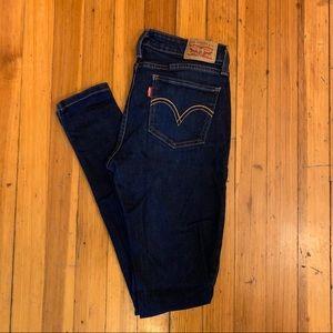 Levis 535 super skinny jeans